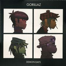 GORILLAZ Demon Days 2-LP RED VMP NEW Jamie Hewlett Damon Albarn Danger Mouse OOP