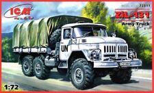 Zil 131 Truck (Naciones Unidas, soviética, alemana, polaca, ucraniana mkgs) 1/72 Icm
