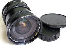 MINOLTA MD ZOOM ROKKOR-X 24-50mm f4 for MIRRORLESS CAMERAS JAPAN GOOD