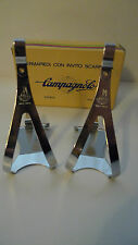Vintage NOS Classic 70'sCampagnolo Nuovo Record Toeclips Medium Colnago Bianchi