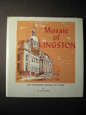 MOSAIC OF KINGSTON 1969 1st Nick and Helma Mika - Hand Printed Copy No. 736