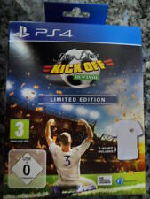 Dino Dini's Kick Off Revival Limited Edition PS4 Nuevo Camiseta Fútbol football-