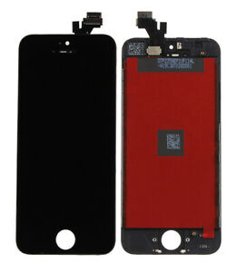 For Apple iPhone 5 4 in LCD Display Touch Screen Digitizer Full Glass Lens Frame