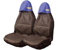 Car Seat Covers Waterproof Nylon Front Pair Protectors to fit Vauxhall All Model