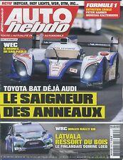 AUTO HEBDO n°1875 du 19 SEPTEMBRE 2012 WEC 6h SAO PAULO WRC WALES GB