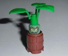 HARRY POTTER Lego Mandrake Root w/barrel Custom NEW Plant pot Genuine Lego Parts