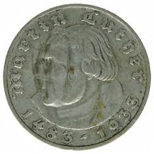 Deutsches Reich 2 Reichsmark 1933 A Silber Luther A13752