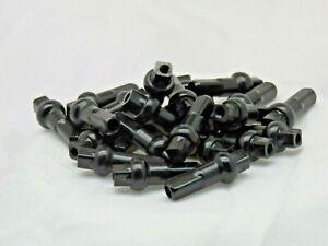 16mm DSN Black Alloy Double Square spoke nipple 14g (2.0mm) Custom amounts