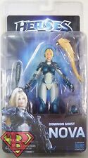 """DOMINION GHOST NOVA Heroes of the Storm 7"""" Video Game Figure Series 1 Neca 2015"""