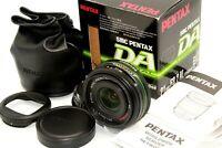 Mint In Box SMC Pentax DA 21mm f/3.2 AL Limited Ultra Wide Angle Lens Hood Japan