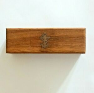 Bosuns Whistle In Wood Case. New