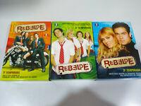 RBD Rebelde Temporadas 1-2-3 - 35 Capitulos + Extras - 15 X DVD 2007 Español