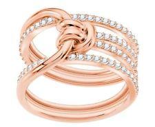 Swarovski 5369797 Lifelong Wide Ring Size 55 Rose Gold RRP$199
