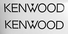 "(2) KENWOOD audio car speakers stereo Amplifier Vinyl Decal Sticker 6.5"" JDM"