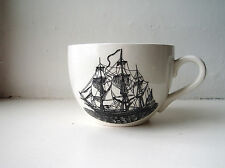 1960s Portmeirion cup Sailing Ships in white