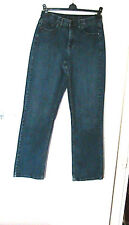 "LEE COMFORT WAISTBAND, FADED LOOK STRETCH  JEANS  SIZE 10 I/LEG 32"" RISE 11"""