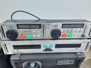 KAM KCD 1000 CDG Professional Twin CD Karaoke Player