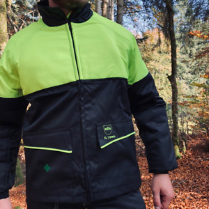 Chainsaw Jacket Prior Class 1 Francital Small Black And Yellow