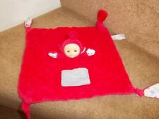 TELETUBBIES PO RED COMFORTER BLANKET BABY SOFT HUG TOY CHARACTER OPTIONS