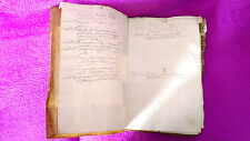 Manuscrit Orig. Catala Contrôle Fundacions Misas I Aniversaris Seu de Gérone