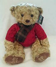 Harrods Christmas Teddy NEW bear 2005 Collectors Edition soft toy with tags