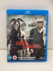 The Lone Ranger (Blu-ray, 2013) Disney Johnny Depp