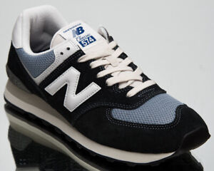 New Balance 574 Men's Navy Light Blue Athletic Lifestyle Sneakers Casual Shoes