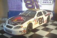 DALE EARNHARDT JR 2004 #8 TACO BELL CHEVROLET 1:24 ACTION NASCAR DIECAST - NIB