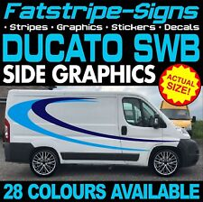 FIAT DUCATO L1 SWB STRIPES GRAPHICS STICKERS DECALS DAY VAN CAMPER MOTORHOME