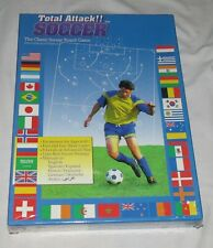 Total Attack Soccer - The Classic Football Board Game - NEW Sealed