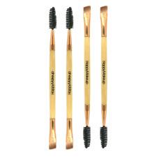 Eyebrow Brush Beauty Makeup Wood Handle Eyebrow Comb Double Ended Brushes