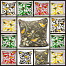 Luxury Cushion Cover 100% Cotton Bird Tree Decorative Sofa Pillow Cases 20x20""