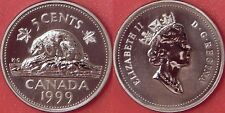 Specimen 1999 Canada 5 Cents From Mint's Set