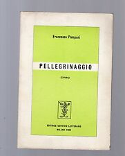 francesco pampuri - pellegrinaggio - liriche -