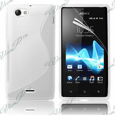 CASE COVER COVERS FLAP TPU S SILICONE GEL S-LINE SONY XPERIA J ST26I