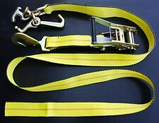 4 RTJ RATCHET STRAPS f CAR TRAILER AUTO TIE DOWN STRAPS