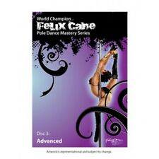 Felix Cane Dance Pole Mastery Dancing Disc 3 Advanced DVD