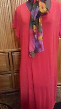 LAS CAFA WOMEN/LADIES RED DRESS SX XXXL NYLON/SPANDEX SEXY