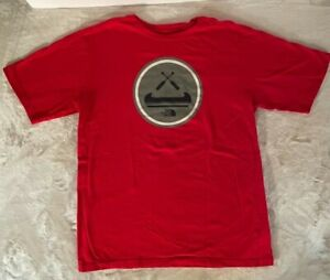 The North Face Boys Red Canoe T-Shirt XL 18/20