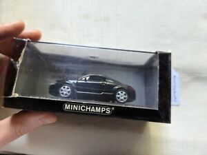 minichamps audi TT coupe  1998 black model car M1 292 M