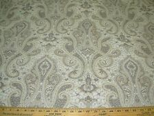 "~5 6/8 YDS~""VICTORIAN FLEUR DE LIS"" ~EMBROIDERED UPHOLSTERY FABRIC FOR LESS~"