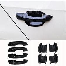For VW Passat 2016-2020 Carbon fiber DOOR HANDLE + DOOR BOWL COVER CUP TRIM CAP