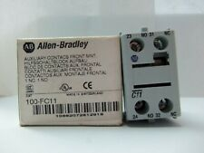 NEW ALLEN BRADLEY 100-FC11 FRONT MOUNT AUXILIARY CONTACT SERIES B NIB
