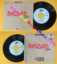LP 45 7''LINDA WESLEY Calling you BAGDAD CAFE' 1988 italy EPIC 6545097 cd mc dvd