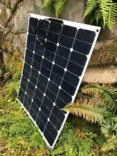 95 Watt Sunpower semi flexible solar panel.  33 volt output for e-bikes etc