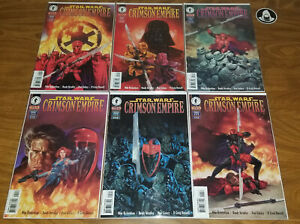 Star Wars Crimson Empire lot, 1 2 3 4 5 6, complete set, 1998 Dark Horse comics