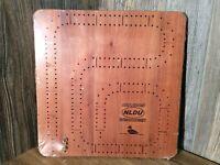 Ducks Unlimited Hardwood Cribbage Board Unopened C10