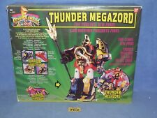 POWER RANGERS MIGHTY MORPHIN  MMPR THUNDER MEGAZORD BOXED 702 + CRYSTALS