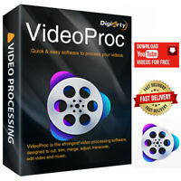 VideoProc 3.8  YouTube downloader   Video converter   DVD Ripper   Record Video