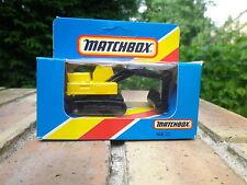 MATCHBOX LESNEY 1981 MB 32 grue pelleteuse Neuf boite jamais ouverte scellée